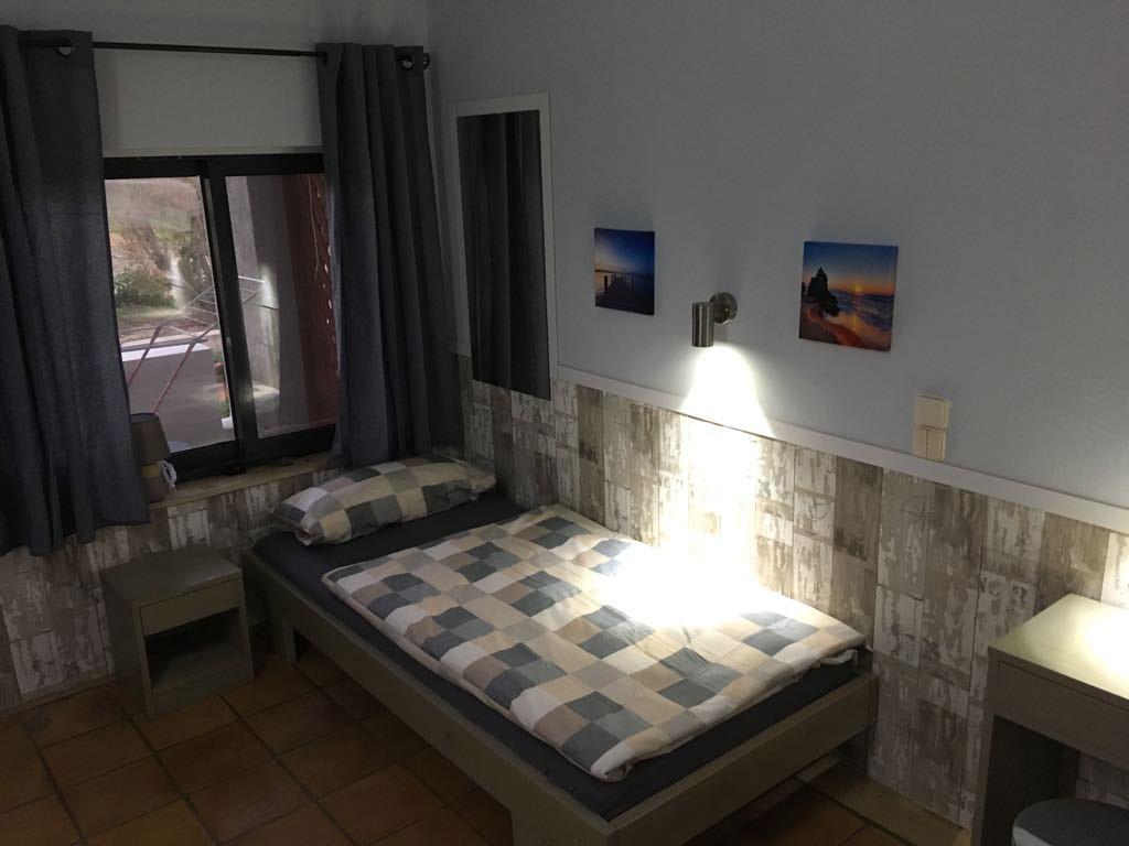 Einzelzimmer im Kreta Motocamp